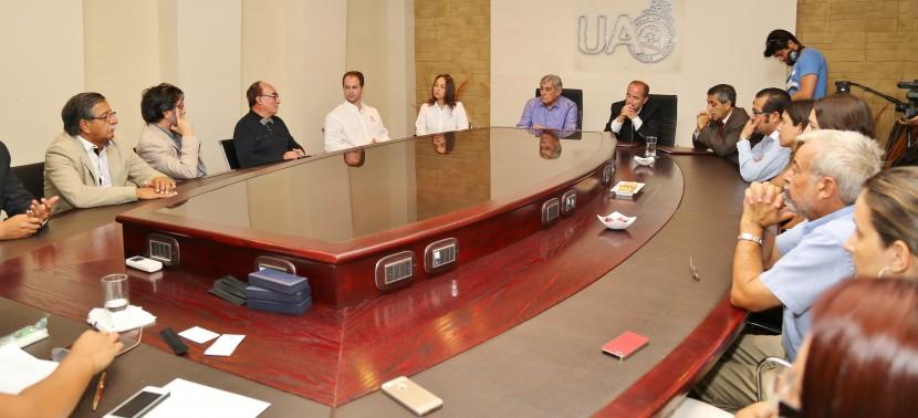 Fotos: Convenio UA-Antofagasta Minerals