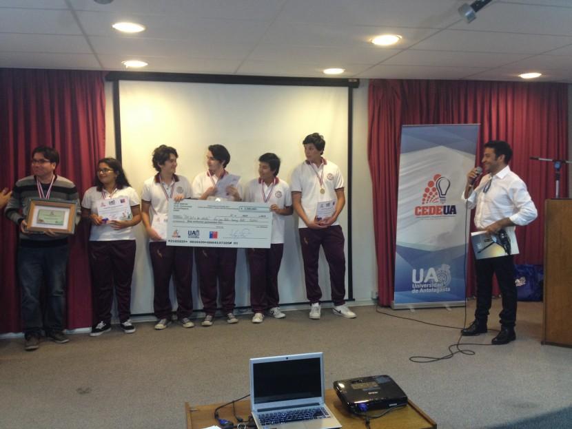 Estudiantes de Taltal ganan Emprende con Energía