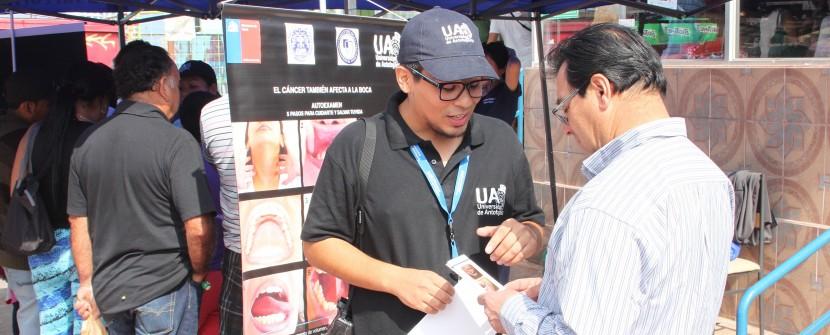 Alumnos y académicos de Odontología realizaron intervención en terminal pesquero de Antofagasta