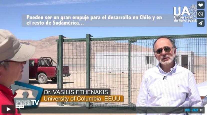 UATV: Plataforma Solar del Desierto de Atacama
