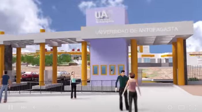 Animación Campus Universidad de Antofagasta