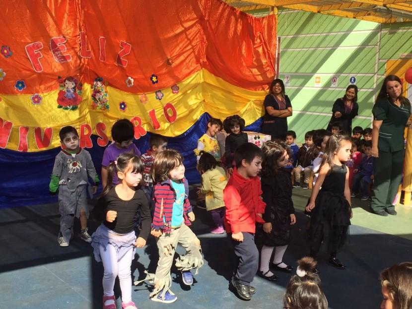 Jardín Infantil Perlitas del Desierto inició semana de Aniversario