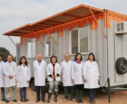 Está listo: primer laboratorio minero móvil