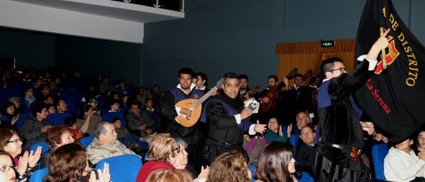 Tunas universitarias se tomaron Antofagasta