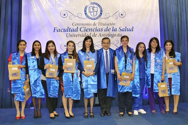Titulación Facultad de Ciencias de la Salud 2016