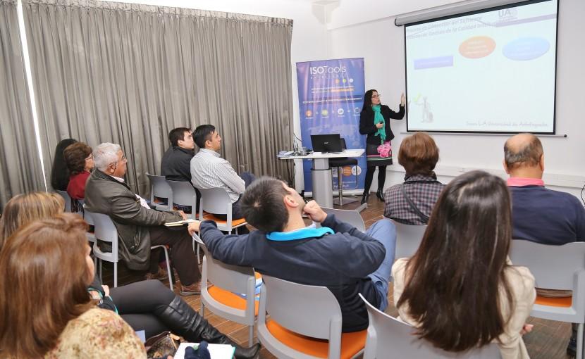 UA presenta experiencia en automatización de sistema de gestión
