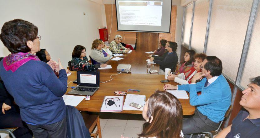 VRA presenta Proyecto de Innovación de la Gestión de la Dirección de Registro Curricular