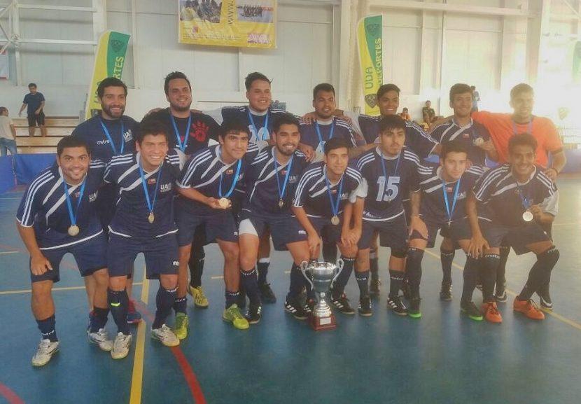 UA se consagra campeón del Futsal en Copiapó