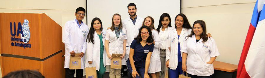 Facultad de Medicina y Odontología recibe a 9 estudiantes de intercambio