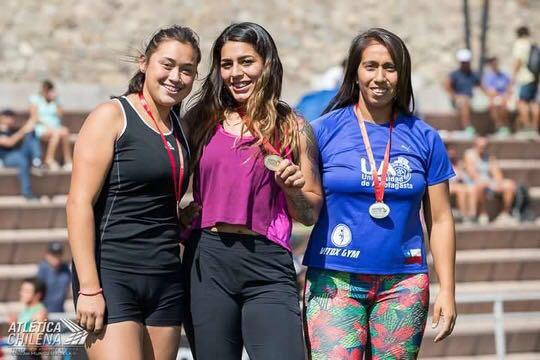 Leslye Torrejón logra 2° lugar en Meeting Nacional