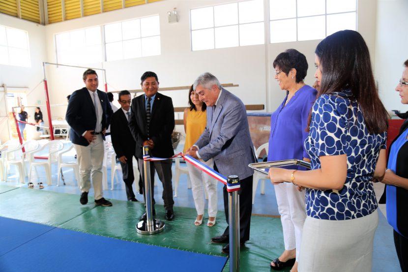 Deportes UA inauguró nuevo Tatami deportivo