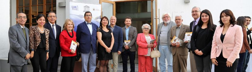 Cátedra UNESCO entregó libro sobre Antropología de la escritura