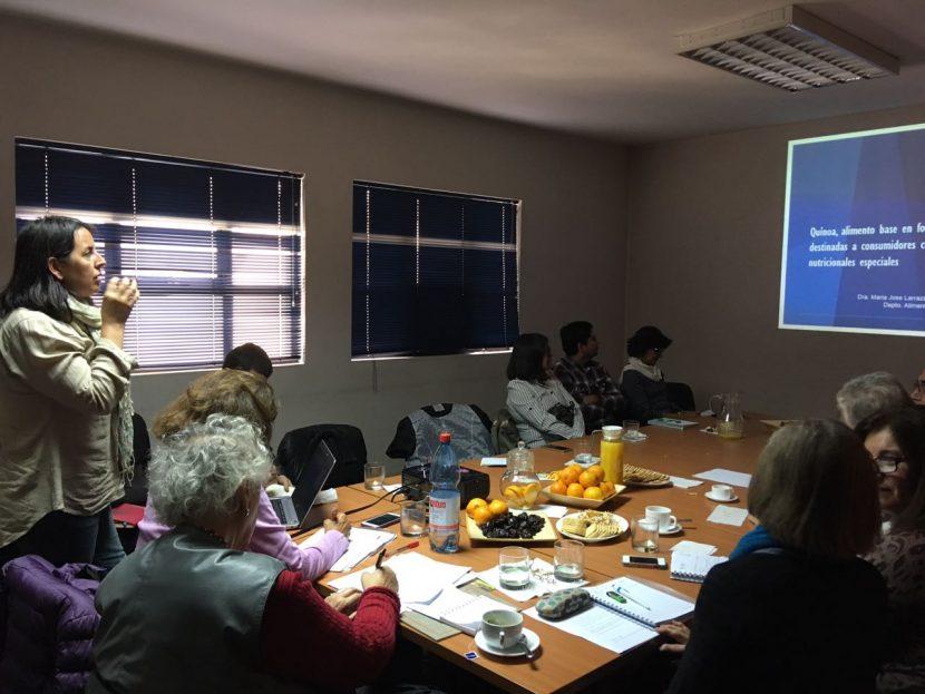 Académica UA presentó investigación sobre la Quinoa