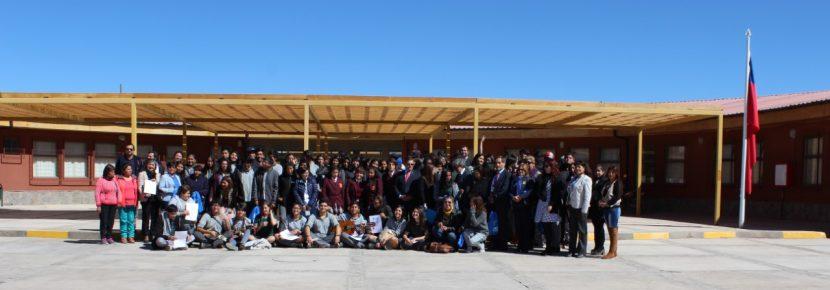 PACE UA inauguró su año 2017 en la Provincia de El Loa