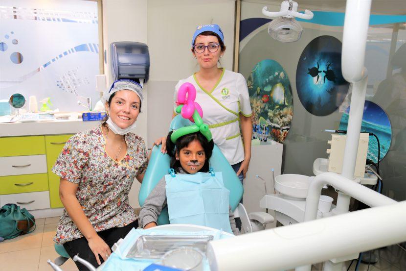 27 menores se beneficiaron de operativo médico dental