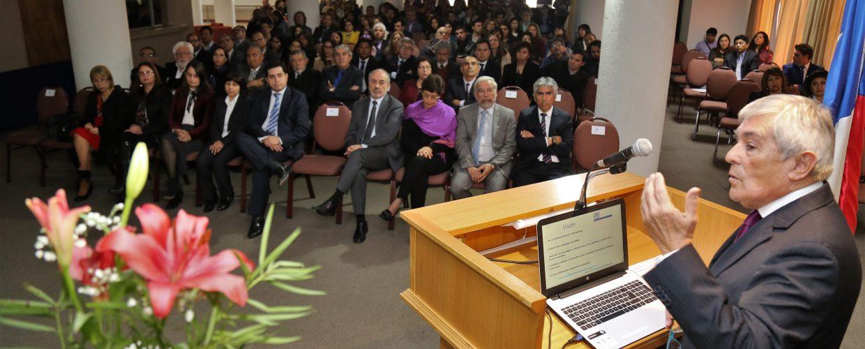 Rector destacó logros institucionales en Cuenta de Gestión