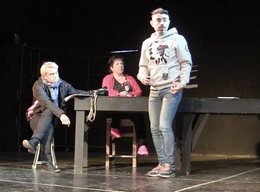 Con montaje sobre inmigración el teatro de la UA inicia nueva temporada.