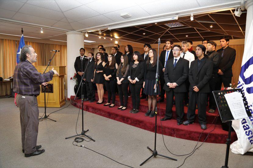 Muestras de música al finalizar el semestre en la UA.