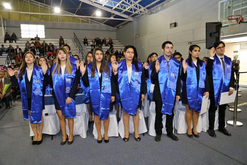 45 estudiantes se titularon de carreras de Ciencias Sociales y Humanidades