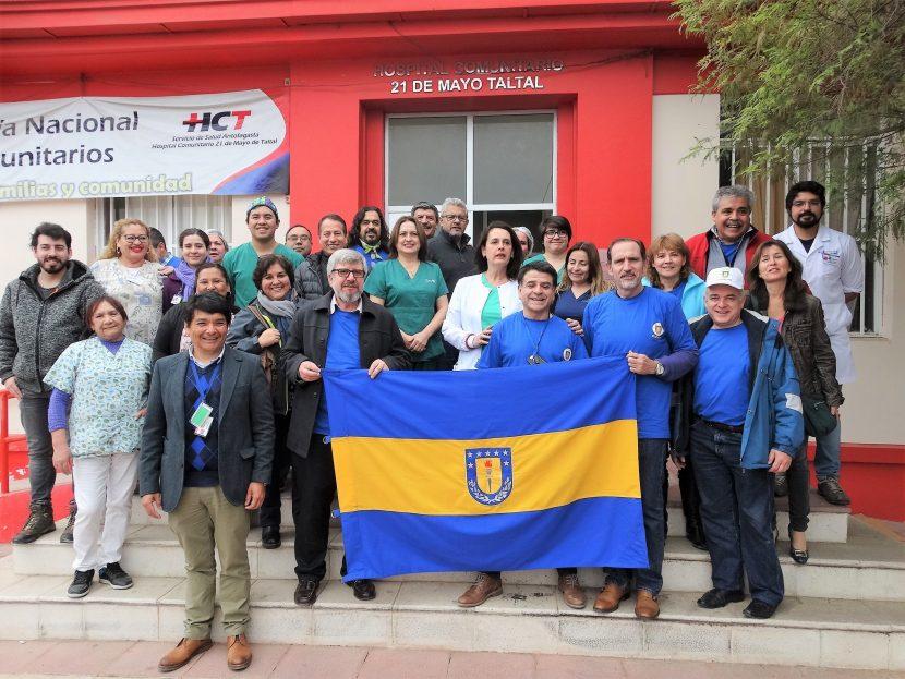 Médicos de Concepción se sumaron a operativo Sembrando Salud de la UA