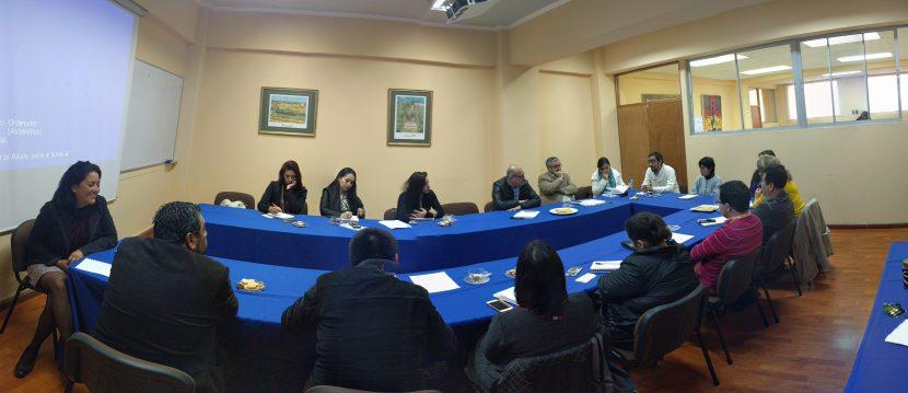 Octava Mesa Intersectorial fijó trabajo entre facultades y seremis