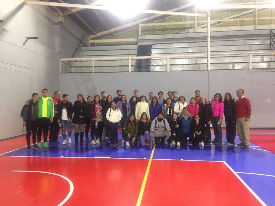 Profesores se capacitan en Proyecto Talleres Deportivos