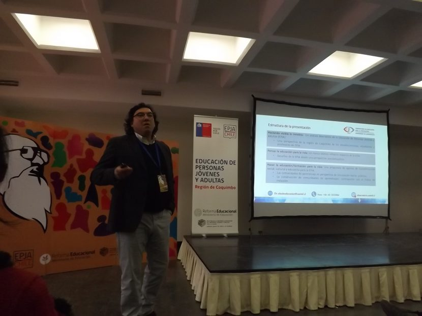 """Observatorio Educacional UA participó del primer congreso de inclusión """"Paulo Freire"""""""