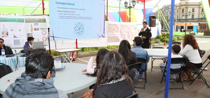 Fiesta de la Ciencia llegará a la Plaza Bicentenario y La Chimba