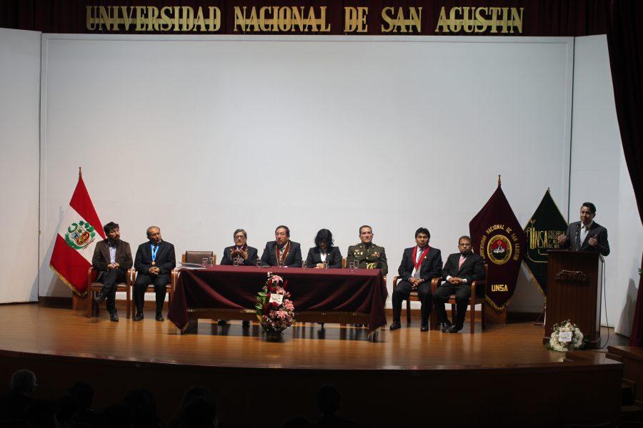 Biotecnología UA presente en aniversario de Biología en la UNSA-Perú