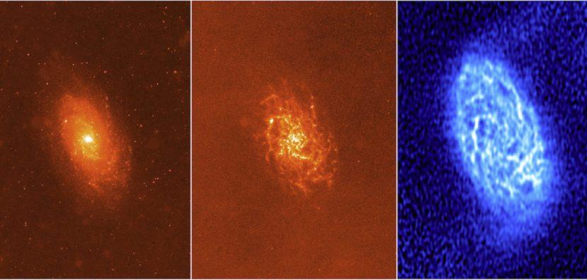 Astrónomo UA investiga galaxia cercana a la Vía Láctea