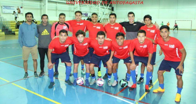 Selección universitaria de Futsal se queda con cuadrangular