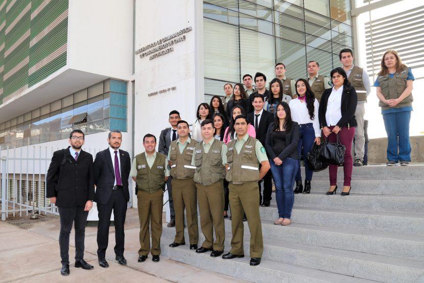 Futuros abogados visitaron Labocar