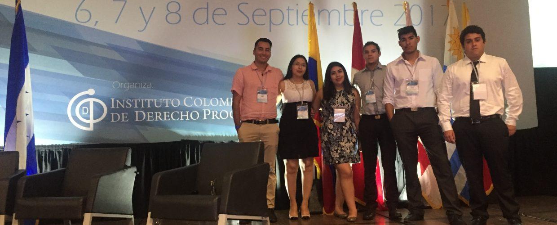 Semillero de Derecho UA participó en concurso internacional