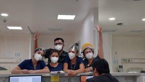Estudiantes de Enfermería UA.